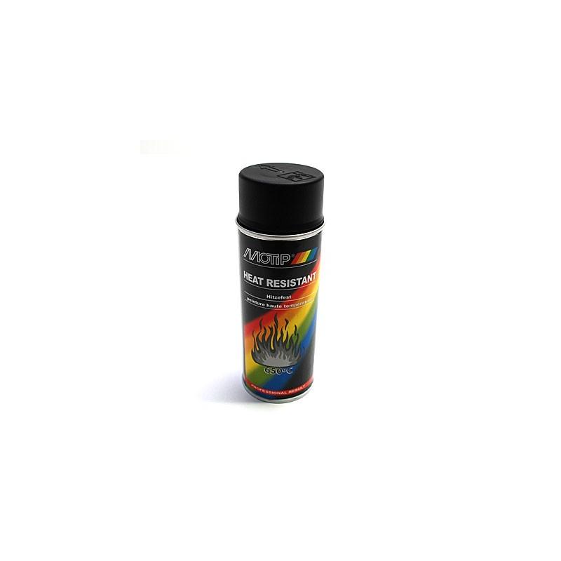 bombe peinture silicone noir haute temp 233 rature 800 176 moteur pot spray 400ml motip pro 12 31